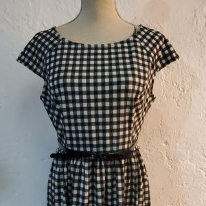 NWT Elle Gingham Dress